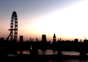 Westminster sunset 3 by Topaz172