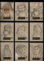 LOTR Masterpieces II 091-099 by aimo