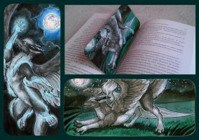 Zirius Bookmark by Natoli