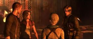 RE6 Leon,Helena,Sherry and Wesker Jr. by JillValentinexBSAA