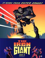 Iron Giant Poster by chasedj