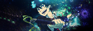 Rin Okumura by Lucarity
