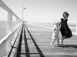 On the Jetty by ElishaKelly
