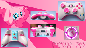 Pinkie Pie Personalized Custom Controller by CARDI-ology