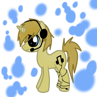 PewDie Pony Ref by Black-Rose-Emy