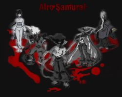 Afro Samurai Wall Paper by Cypher7523
