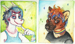 Sparkle badges by Canis-Infernalis