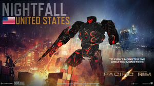 Pacific Rim Jaeger Designer:  Nightfall by spi3000