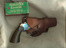 Stock-Colt.45holstered,bullets by idolhands