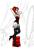 Corset by HechiceraRip