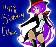 Birthday drawing for Ethan by UndertakerisEpic