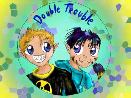 Wallpaper - Double Trouble by shadow-inferno