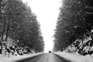 Winter Drive by tracy-Me