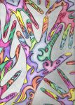 Psychedelic Hands by MikaLintu