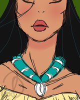Pocahontas Speed-paint by spockward