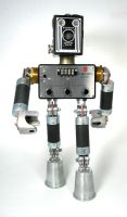 RCA -2 Found Object Robot by adoptabot