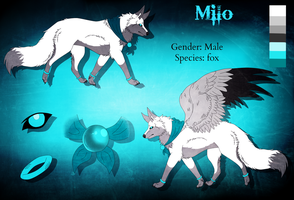 Commission: Milo Reference Sheet by Mihiru93