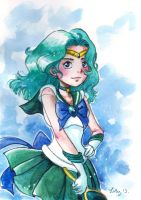 Sailor neptune fanart by yugie