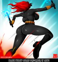 BLACK WIDOW COMIC PRE-ORDER by Witchking00