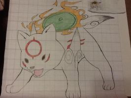 Okami (math project) finished by The-nordic-fangirl
