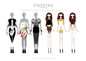 Mat Lee Cocktail Range Redesigned by j-b0x