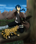 Kashii and Cat Again by Baby-Cougar