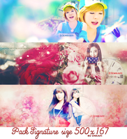 [PSD Pack] SNSD with colorful by choijuti
