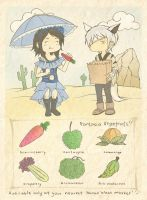 Collab:Exotic Xanan Vegefruits by Karouii