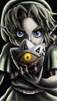 Link from the majora's mask 3ds by Etinel
