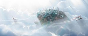 City In Sky12 by Camponotus