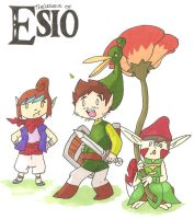 The Legend of Esio by spot1the2dog3