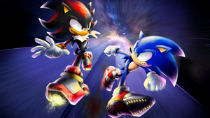 Sonic vs Shadow! by nintendo-jr