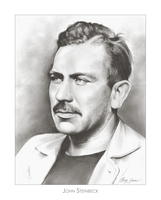 John Steinbeck by gregchapin