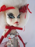 Kerli Tea Party one of a kind monster high doll by midnightstrinkets