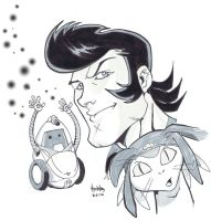 Space Dandy by diecast75