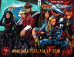 SF X GI JOE Wraparound Variant by ninjaink