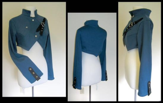 Military Style Short Coat by nolwen
