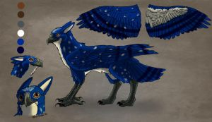 Blue Gryphon Character Sheet by lvadams