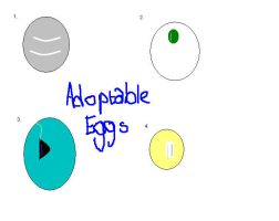 Egg Adoptables OPEN by Krististina