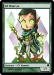 Elf Warrior Token by JonnySchweer