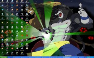 just my actual desktop loool by Karmakat01