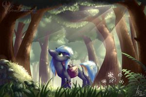A visit into the woods by gonedreamer