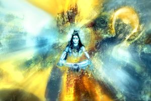 Shiva transmuting poison..... by Valleysequence