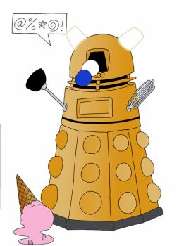 Dalek by Gallifery