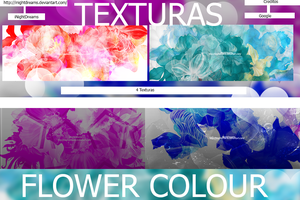 +Texturas Flower Colours-iNightDreams by ilightlovely