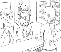 The PokeMart-uncolored by Deoxys145