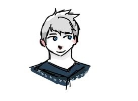 I scribbled a Jack Frost by o-Raven-Cat-o