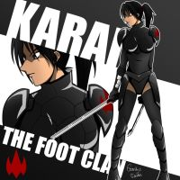 Karai of The Foot by amateurartworker