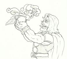 Thor aproves. by joelashimself