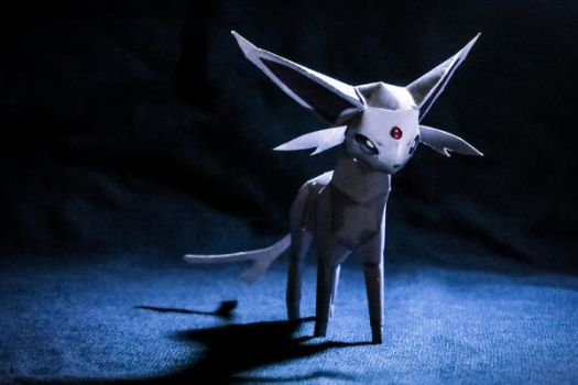 Espeon papercraft by intrepidati0n